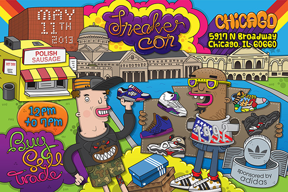 Sneaker Con Chicago: Saturday, May 11, 2013