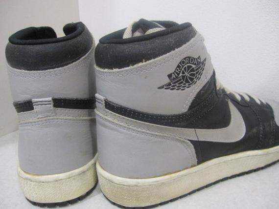Air Jordan 1: Black – Grey – 1985 OG