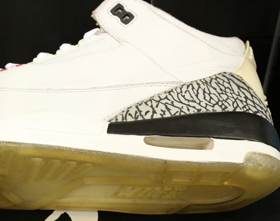 Air Jordan III: Clear Sole Sample
