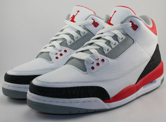 Air Jordan III: Fire Red  Release Date
