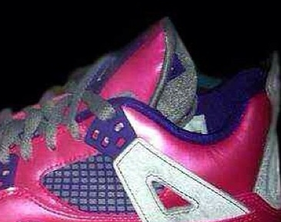 Air Jordan IV GS: Pink – Purple