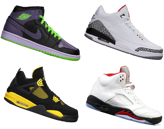 Memorial Day Weekend Air Jordan Restocks