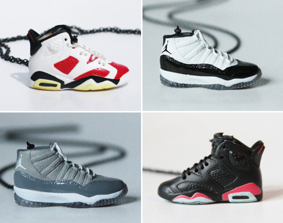 Air Jordan Sneaker Necklaces by MERYSTACHE