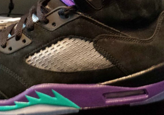 "Air Jordan V: ""Black Grape"" – New Release Date"