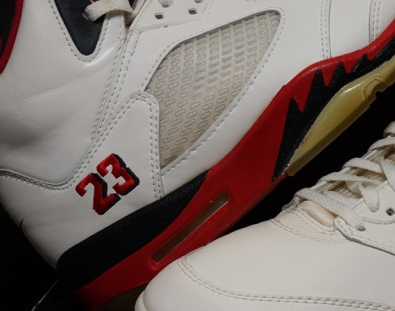 Air Jordan V: Fire Red   1990 OG on eBay