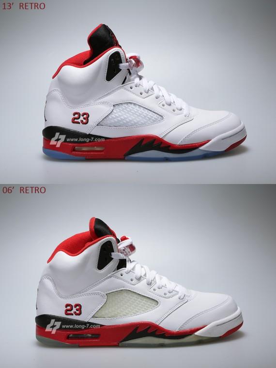 9b9b9d5d714 Air Jordan V 5 Retro Fire Red