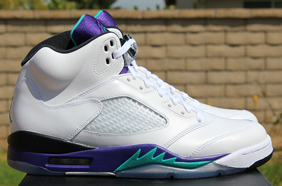 Air Jordan V: Grape  Release Reminder