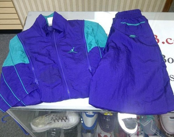 Vintage Gear: Air Jordan V Grape OG Tracksuit