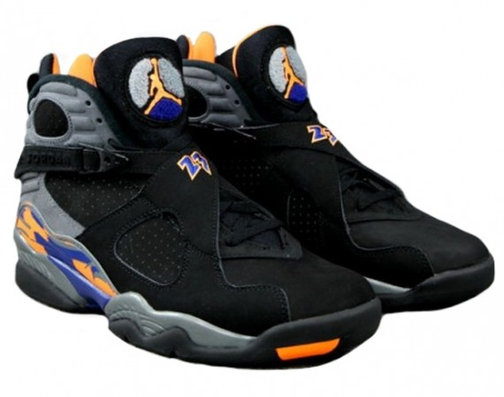 "Air Jordan VIII: ""Suns"" – Arriving at Retailers"