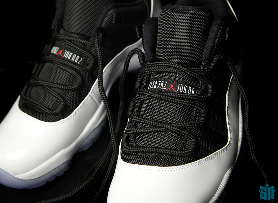 huge selection of 28d0d 646e5 Air Jordan XI Low  White – Black – True Red   Beauty Shots - Air Jordans,  Release Dates   More   JordansDaily.com