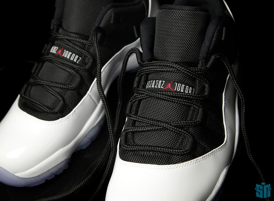 Air Jordan XI Low  White – Black – True Red  aee8adc2b0