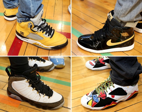 Sneaker Con Chicago May 2013: Feet Recap