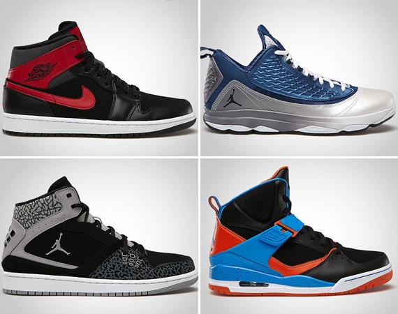 Jordan Brand July 2013 Releases
