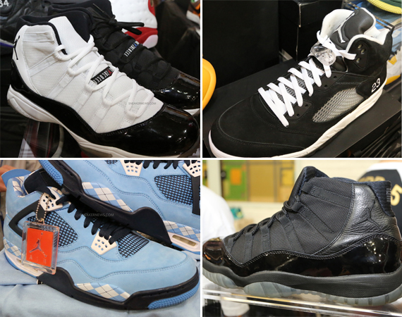 Air Jordan PE and Sample Showcase by Flipjays 