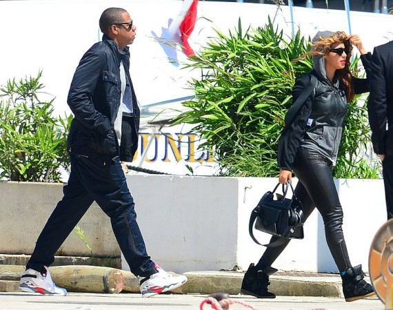 Jay Z Wearing Air Jordan VIII Bugs