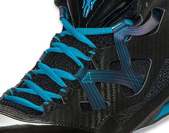 Jordan Melo M9: Black   Neo Turquoise