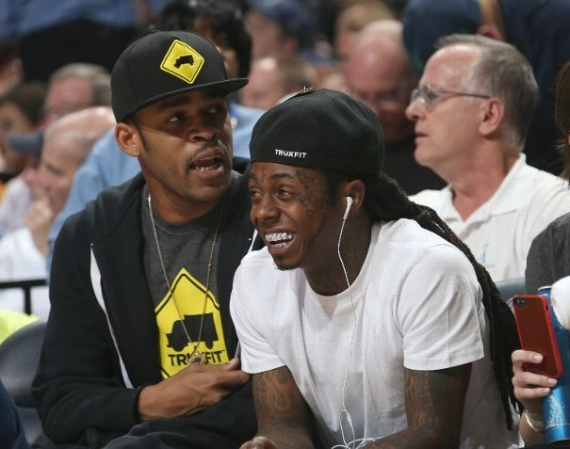 Lil Wayne Wearing Air Jordan V