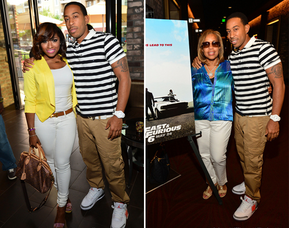 Ludacris Wearing Air Jordan III White/Cement