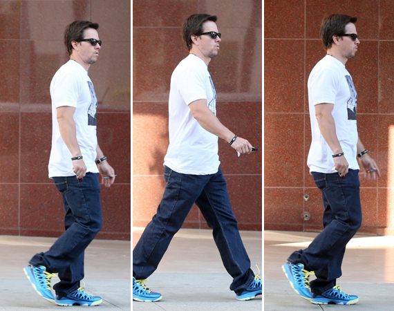 Mark Wahlberg in Jordan CP3.VI
