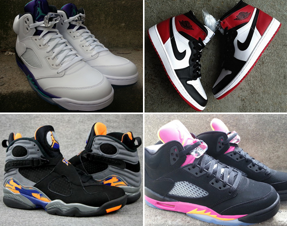 May 2013 Air Jordan Releases