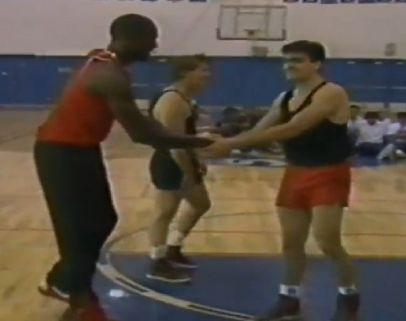 Michael Jordan Plays Basketball with Charlie and Martin Sheen