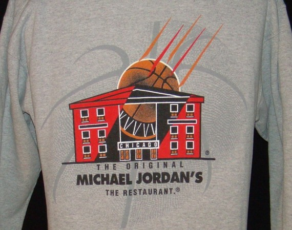 Vintage Gear: Michael Jordans The Restaurant Crewneck Sweater