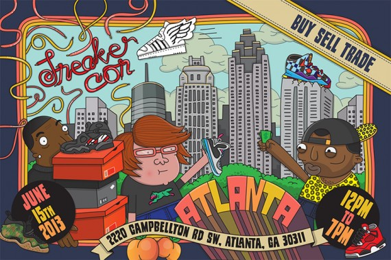 Sneaker Con Atlanta: Saturday, June 15th, 2013