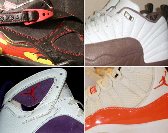 Unreleased Air Jordans: VII XX3