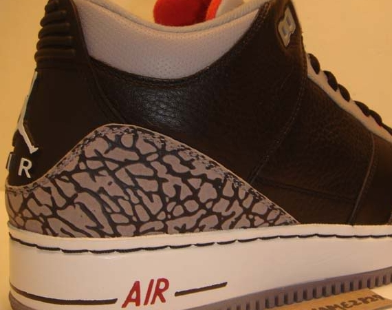 "Air Jordan III Force Fusion: ""Black/Cement"" – Unreleased Sample"