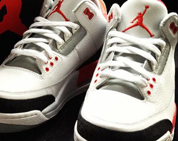 the best attitude 4b510 ff1f7 The last time we saw the Air Jordan III  Fire Red  was in 2007 and while we  saw a steady influx of the silhouette in 2011, the Air Jordan III  Fire Red   ...