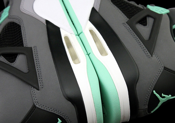 "hot sales 20fda fc012 A glowing pair of Jordans will arrive at retail this summer with the release  of this, the Air Jordan IV ""Green Glow"". The rare GITD treatment will stick  to ..."