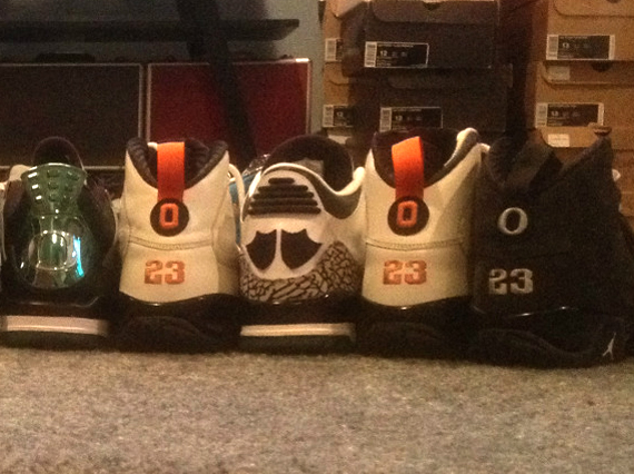 Air Jordan Oregon PE Collection on eBay