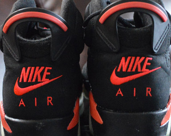 Reverse Infrared Air Jordan VI: Unreleased Sample
