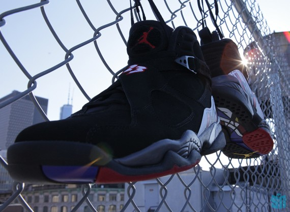 "Air Jordan VIII: ""Playoffs"" – Beauty Shots"