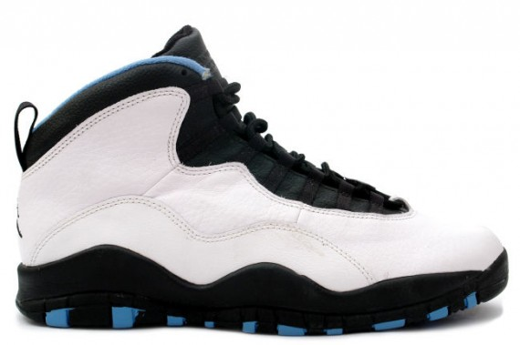 Air Jordan X: White   Dark Powder Blue   Black | Releasing March 2014