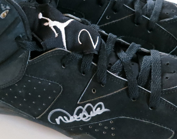 Air Jordan VI: Derek Jeter Game Worn Autographed PE