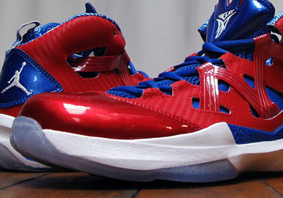 6fdac57ded2 Right before you get all decked out for the Puerto Rican Day parade, the Jordan  Melo M9 has decided to do to same. The sneakers are available now in this,  ...