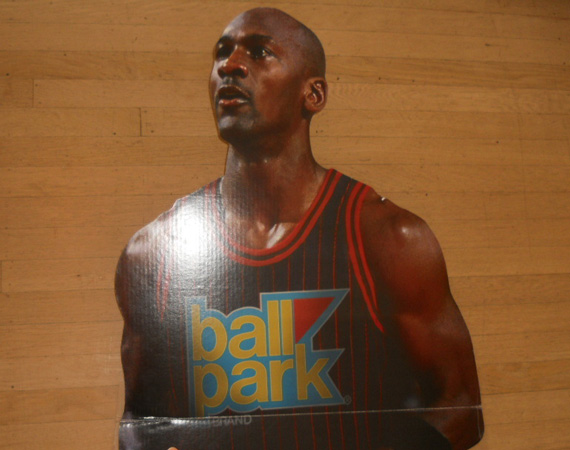 Vintage Gear: Michael Jordan Ball Park Franks Cutout