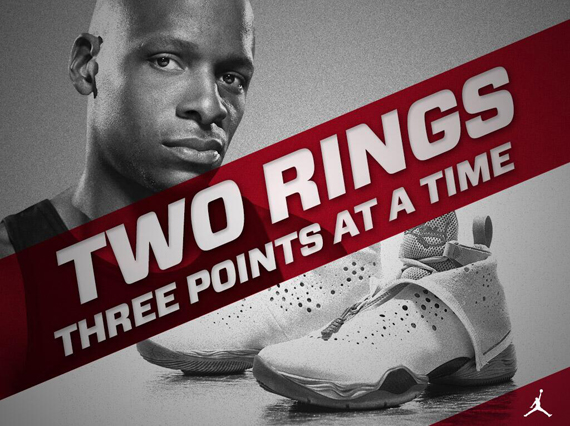Jordan Brand Congratulates Ray Allen For 2nd NBA Championship