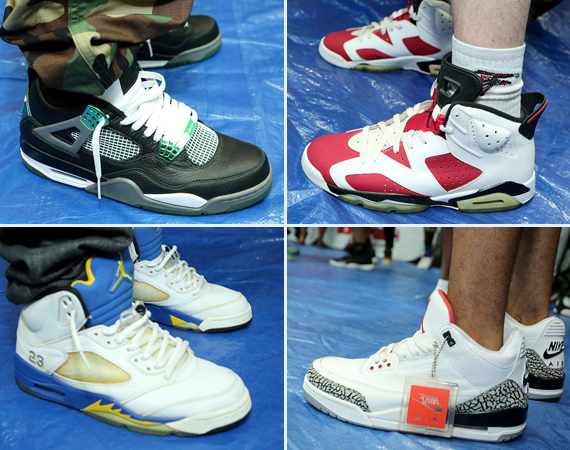 Sneaker Con came to Atlanta this past Saturday and with its arrival were  some crazy on feet moments for Jordan Brand thanks to its devout followers.
