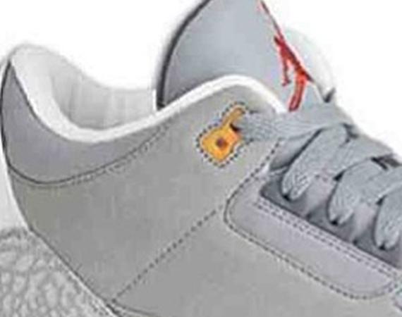 Air Jordan III: New Slate – Wolf Grey – Cool Grey – Team Orange
