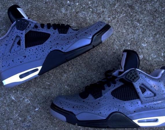 "Air Jordan IV  ""All Over Cement"" by DeJesus Customs - Air Jordans ... f95d6f09d6fa"