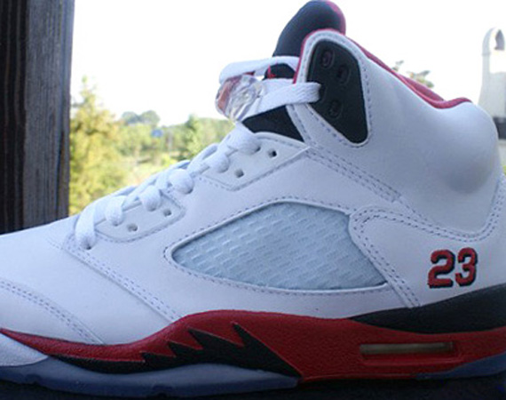 Fire Red Air Jordan V GS