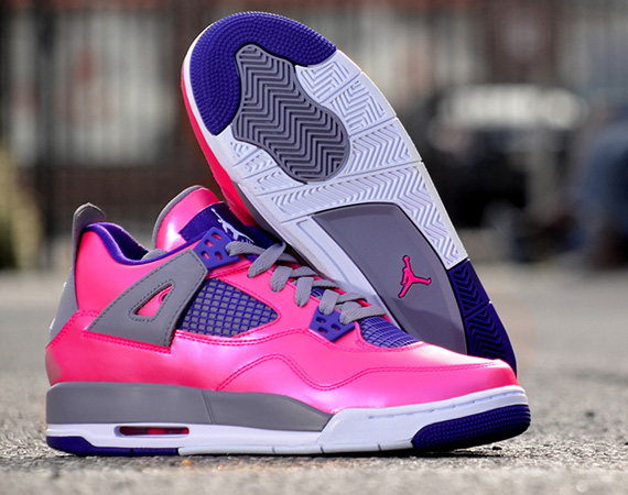 air jordan 4 pink foil