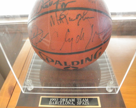 Vintage Gear: 1992 Dream Team Autographed Basketball