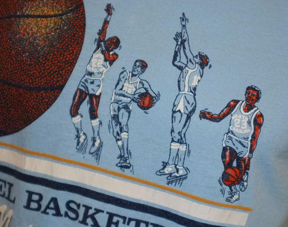 Vintage Gear: UNC Tarheels Nations Finest T Shirt