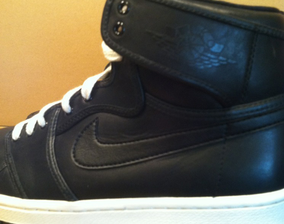 Air Jordan AJKO: Black Leather Sample on eBay