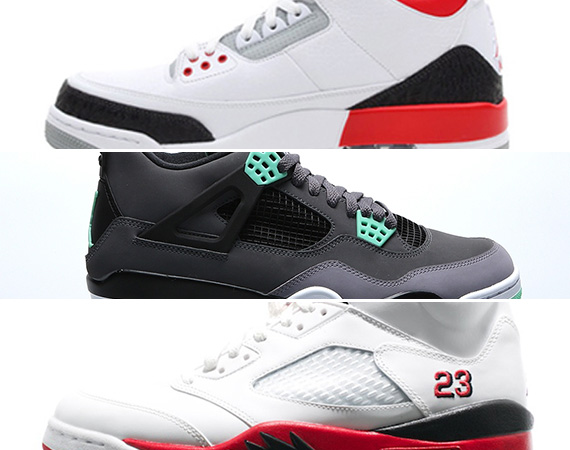 "half off 7973b d5b9f ... July that included the coveted Air Jordan IV ""Toro"", Jordan Brand  continues to push full steam ahead with the Air Jordan III ""Fire Red""  releasing."