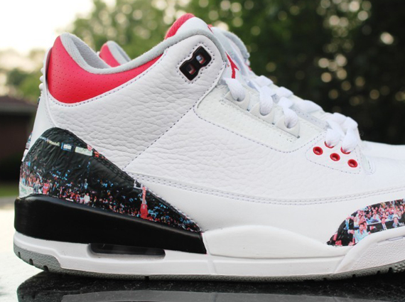 Air Jordan III: Dunk Contest Customs by Rocket Boy Nift