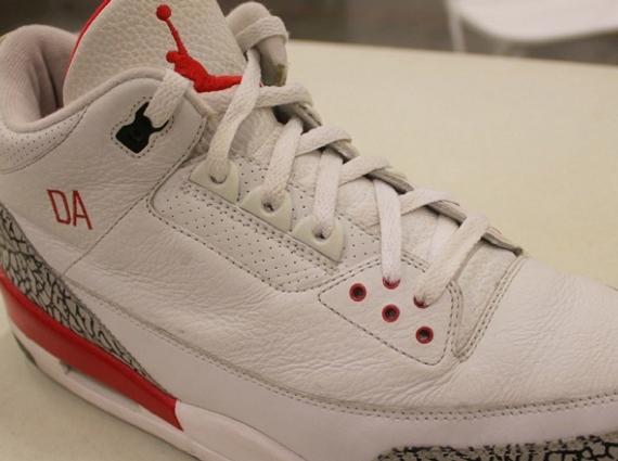 Air Jordan III: Derek Anderson PE